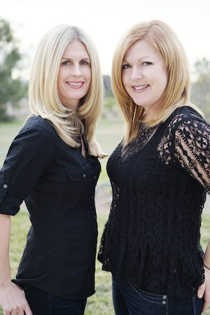 Lisa Steinke (left) and Liz Fenton (right). Photo by Debbie Friedrich