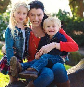 Kendra Mallen & kids